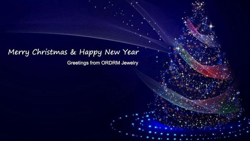 Merry Christmas from ORDRM Jewelry