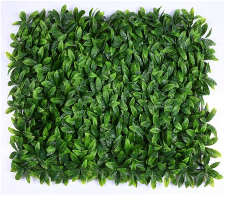 Artificial plant wall with various kinds