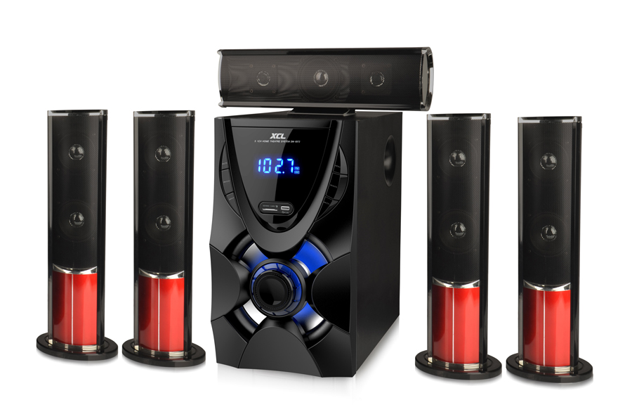 Design box speaker home theater sound system