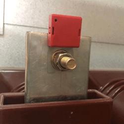 distribution cabinet wireless temperature sensor receiver