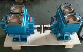 YHCB pto diesel fuel oil transfer gear pump