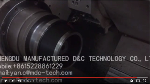 Our CBN turning inserts are processing bearing