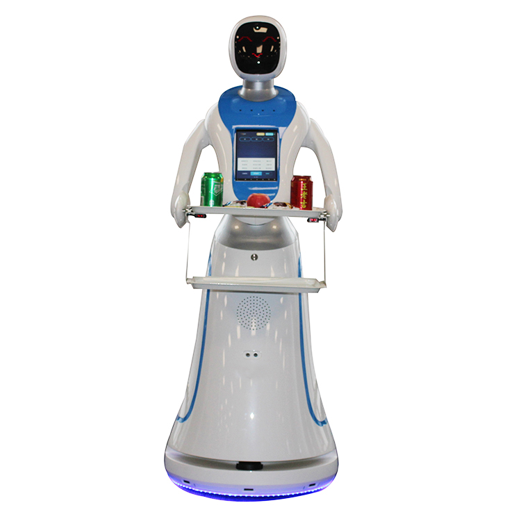 delivery food railless waiter robot for restaurant