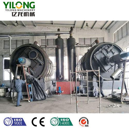 Discharging Process-Tyre Pyrolysis Equipment