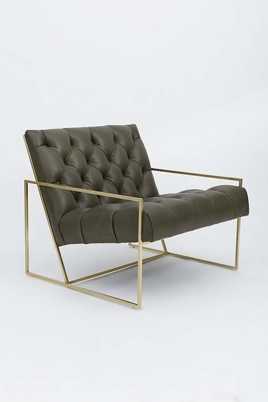 Thin frame lounge chair produced by Yadea factory