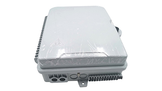 SJ-ODB-SK06-A 24 Core Fiber Optic Distribution Box full loaded with SC/APC Connector