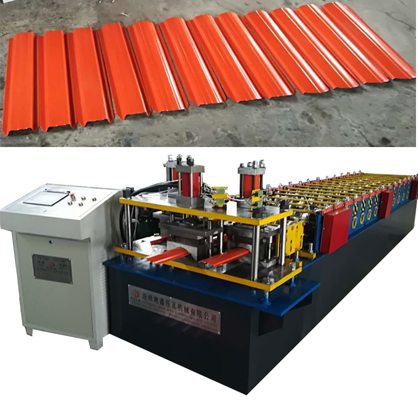 color steel metal fence roll forming machine