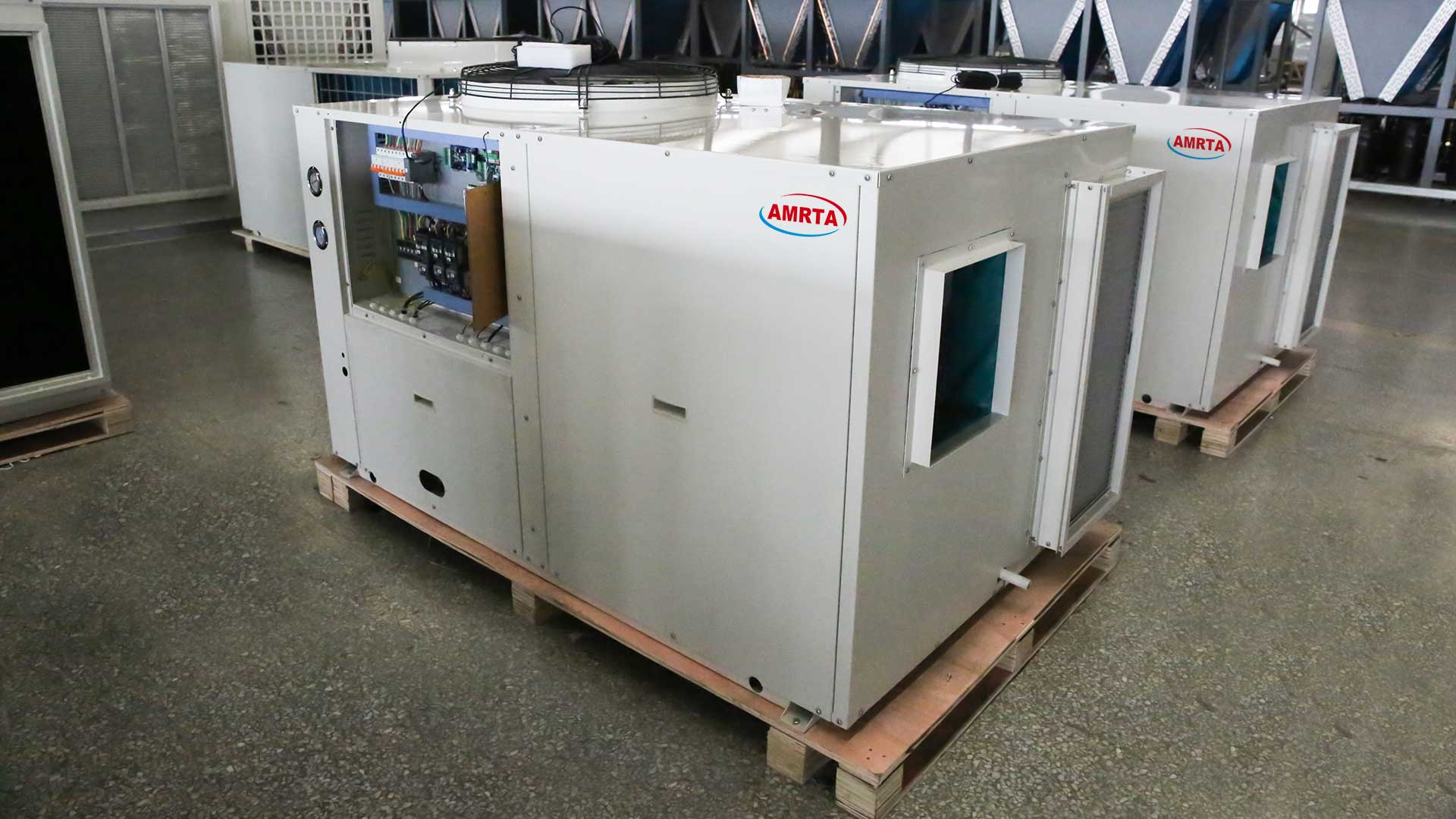 Cooling and Heating Rooftop Packaged Unit