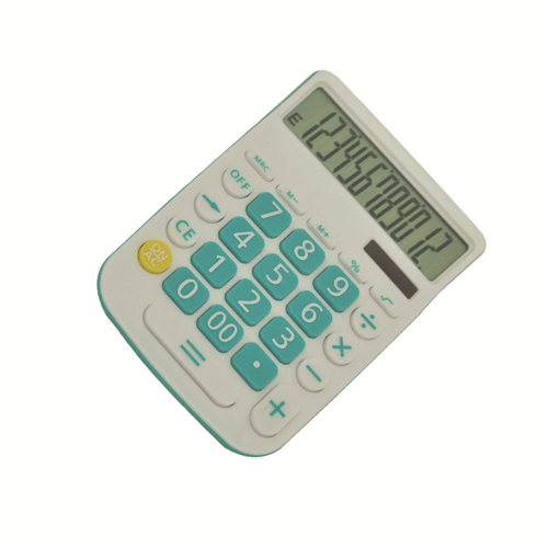 Button Battery Function Calculator 12 Digit Check Calculator