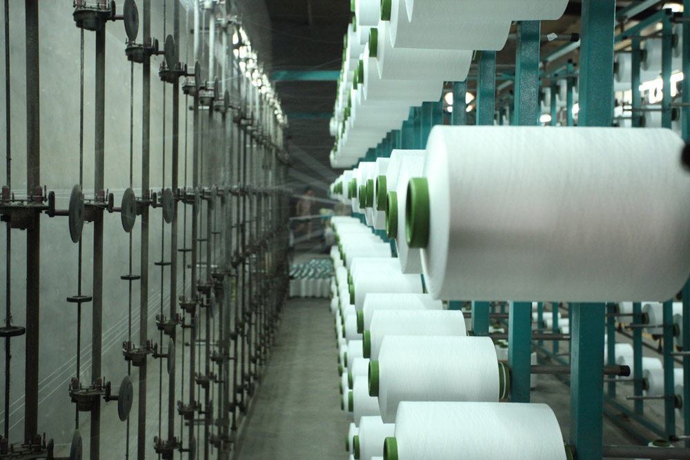 The Microfiber Yarn Warping Process