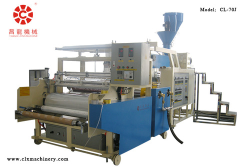 Single Layer 1000mm Stretch Wrap Film Equipment Model CL-70J