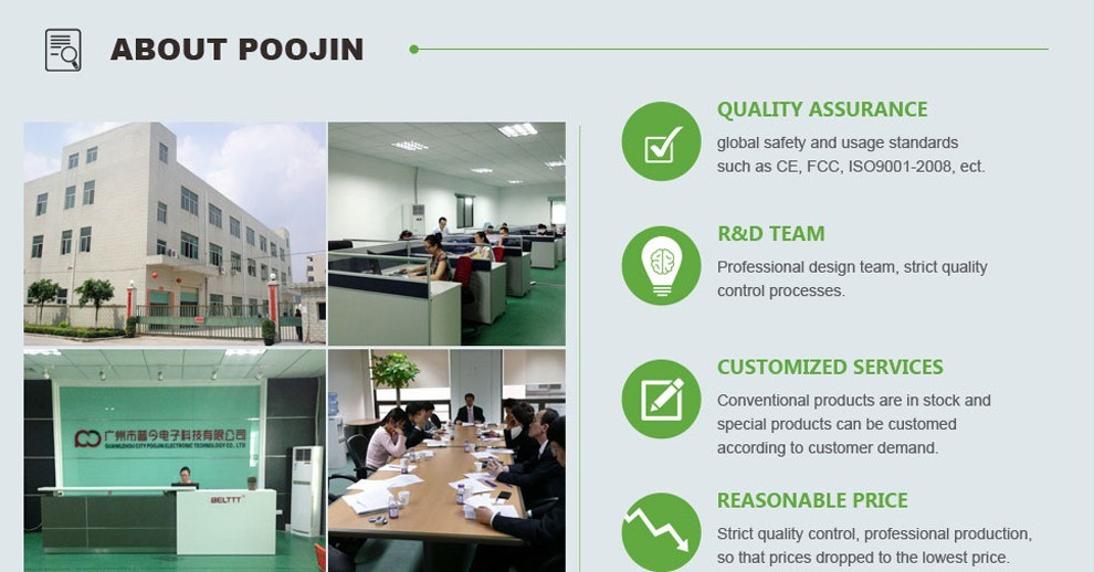 Guangzhou City Poojin Electronic Technology Co., Ltd.