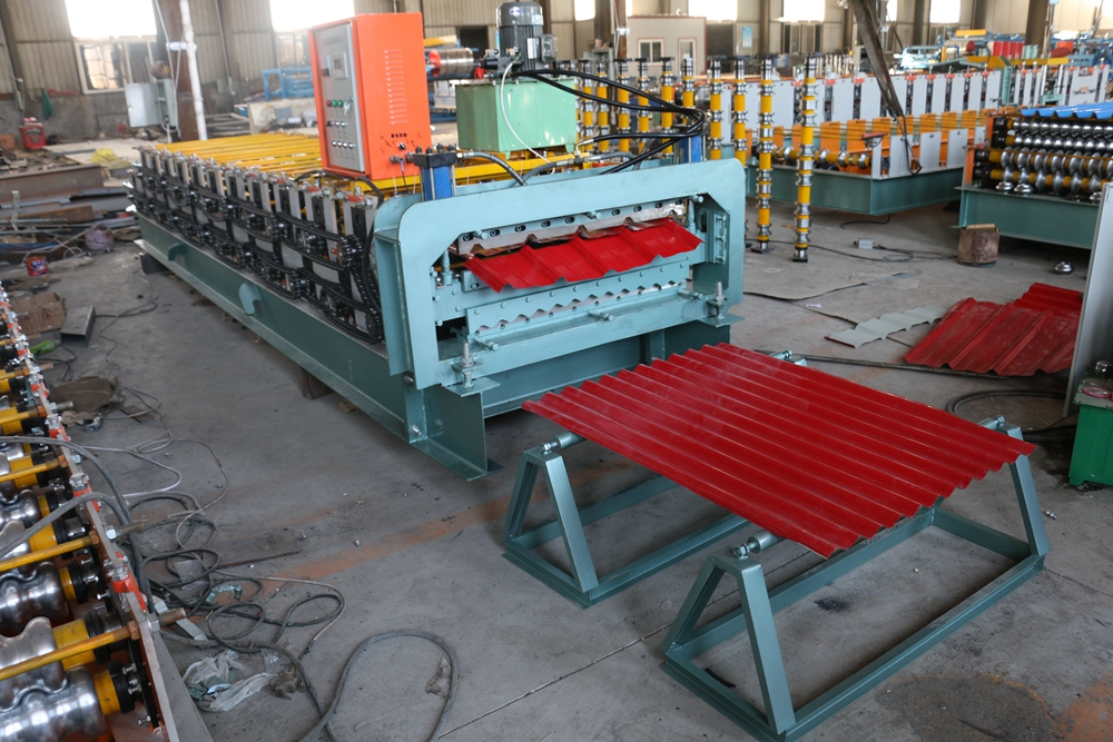 840 and 850 double layer roll forming machine