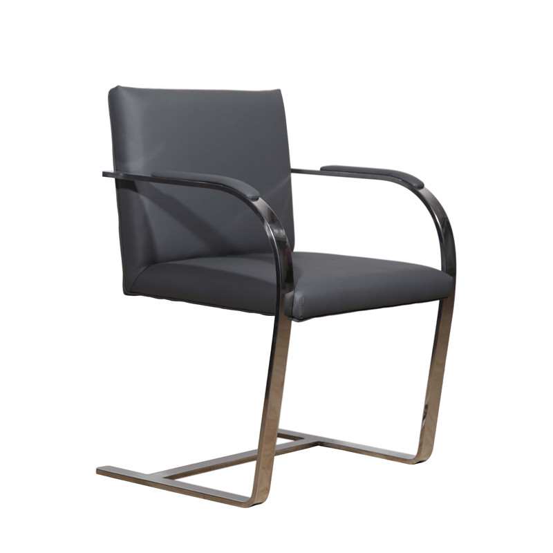 Simple Style Leather Dining Chair-Brno Chair