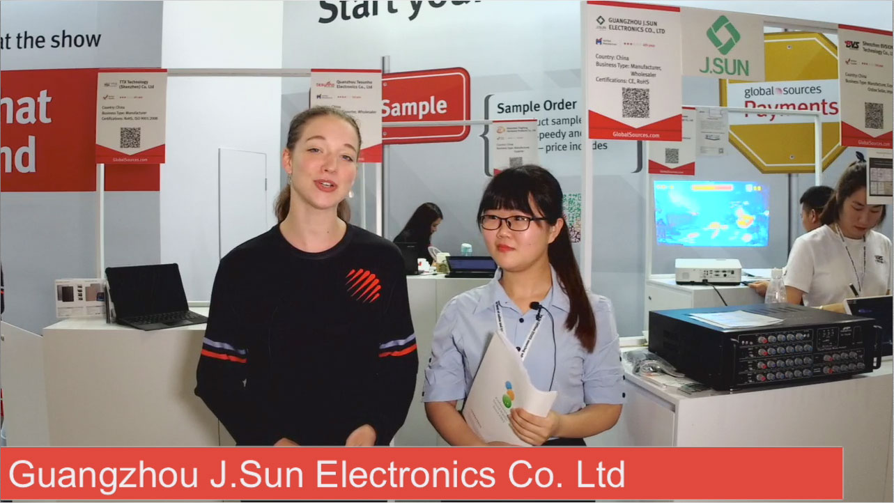 Guangzhou J.SUN Electronics Co.,Ltd live show