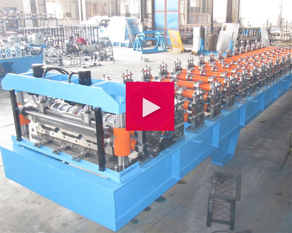 Trapezoidal Shape Roll Forming Machine