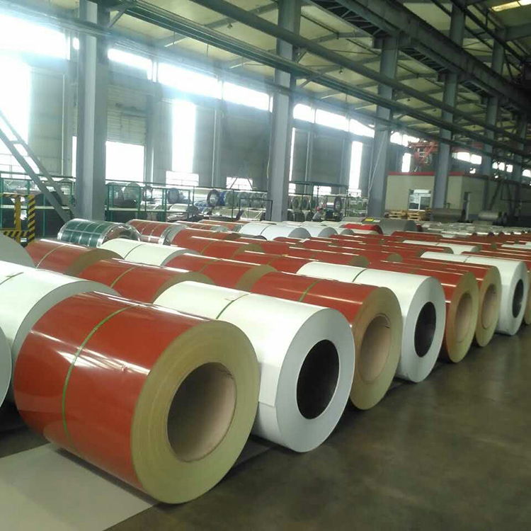 pre pianted steel sheets