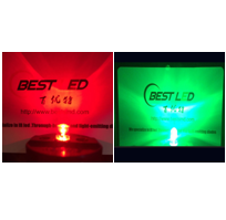 Flashing LED - 5mm Red & Green LED flicker