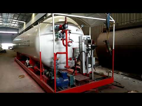 Mobile LPG Skid Stations