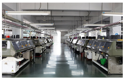 Jacquard Knitting Machine Room