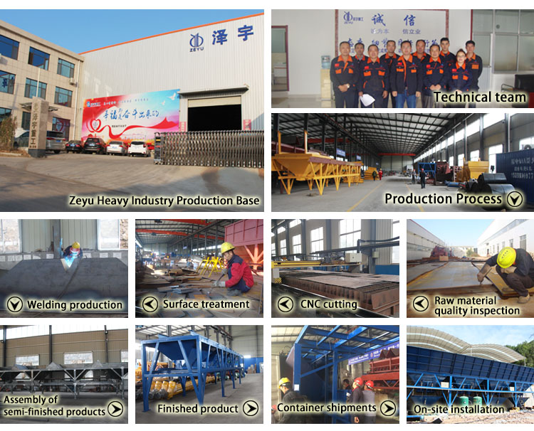 commercial china made concrete mixer