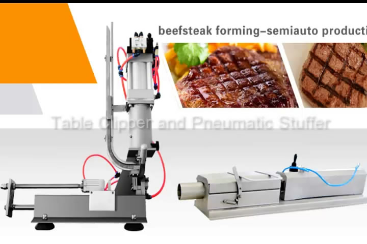 Sausage Making and Production-Ham Making Machine, Ham stuffer and clipper series