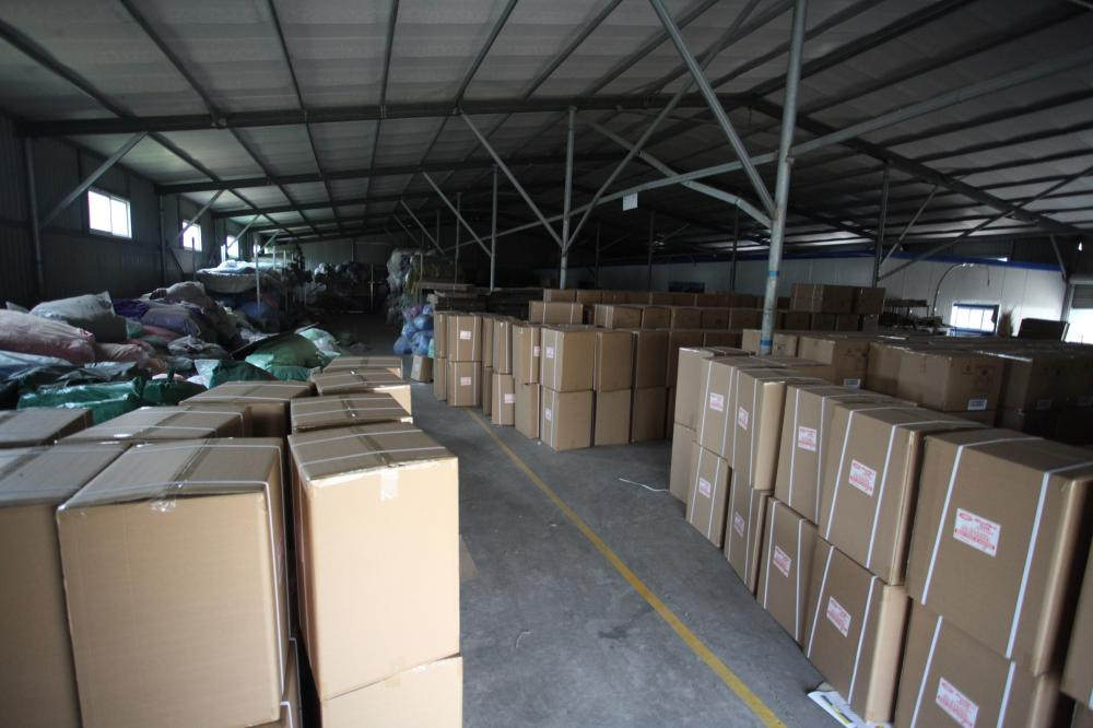 The Warehouse of Finished Towels Products