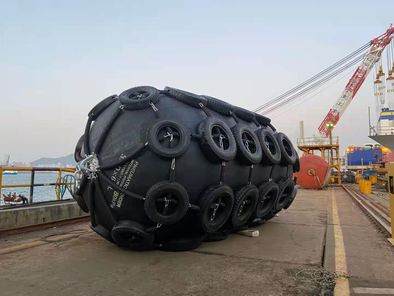 Пневматическое резиновое крыло Yokohama 2,5 м x 5,5 м 3,3 x 6,5 м для буксира