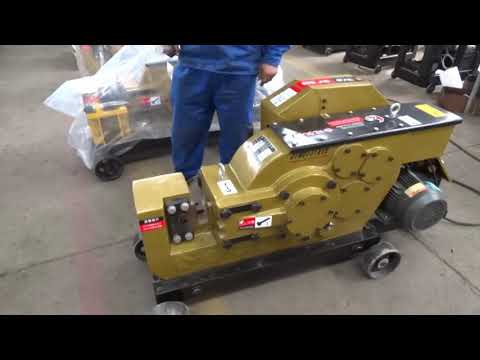 GQ40/50/60 Series rebar cutting machine operation video