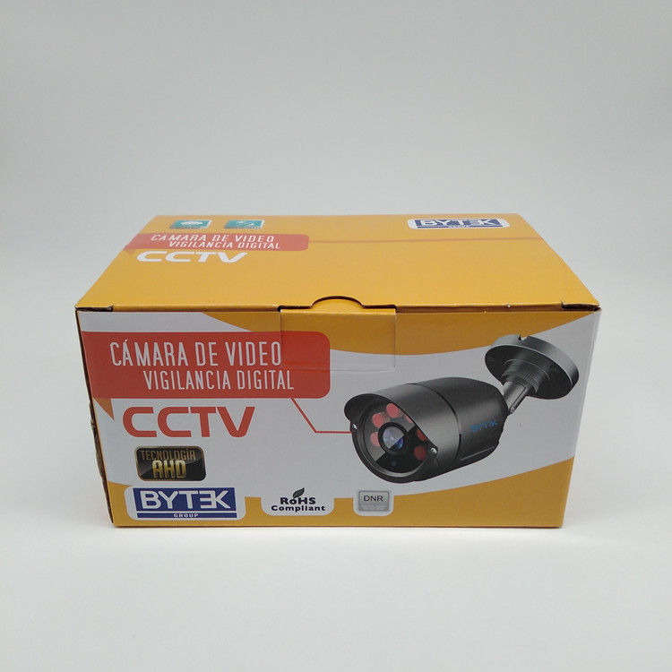 Customized Colorful Corrugated Paper Boxes For CCTV Camera