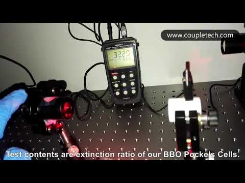 Extinction Ratio Inspection System From Coupletech
