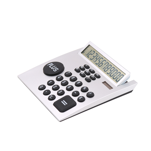 12 Digits Office Desktop Calculator with Big Size Plus Key