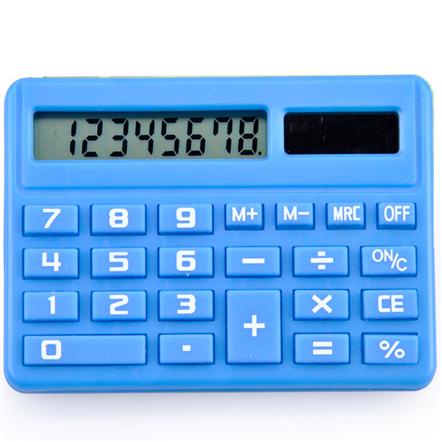 dual power school mini calculator