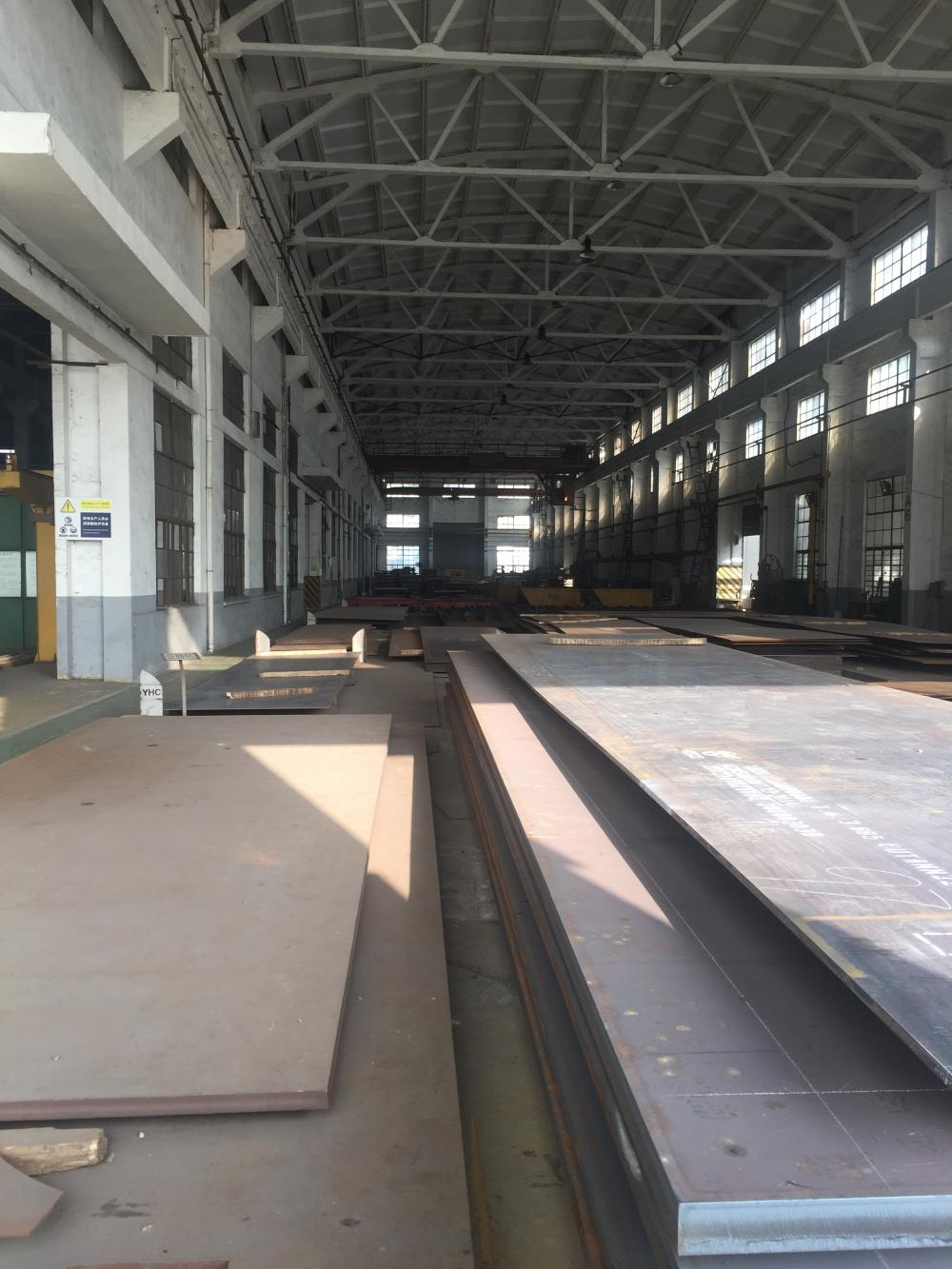 Carbon steel plates stock