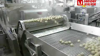 Meatball Production Line, Meatball Forming and Cooking System
