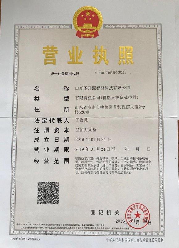 Shandong Shengkaiyuan Intelligent Technology Co., Ltd.