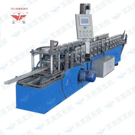 Fast speed light keel roll forming machine