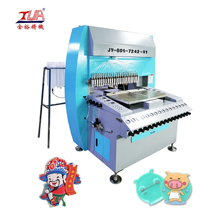 JinYu 24 heads/needles/colors PVC label dispenser machine
