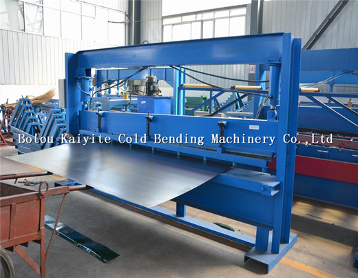 4m Hydraulic Steel Plate Shearing Machine
