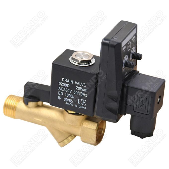 0927000 1/4'' Solenoid Valve For Screw Air Compressor 24VDC 220VAC 1