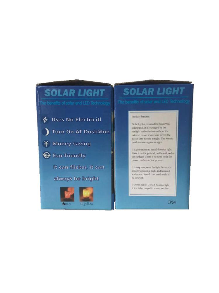 LED Solar Warning Light Flashing Warning Lights