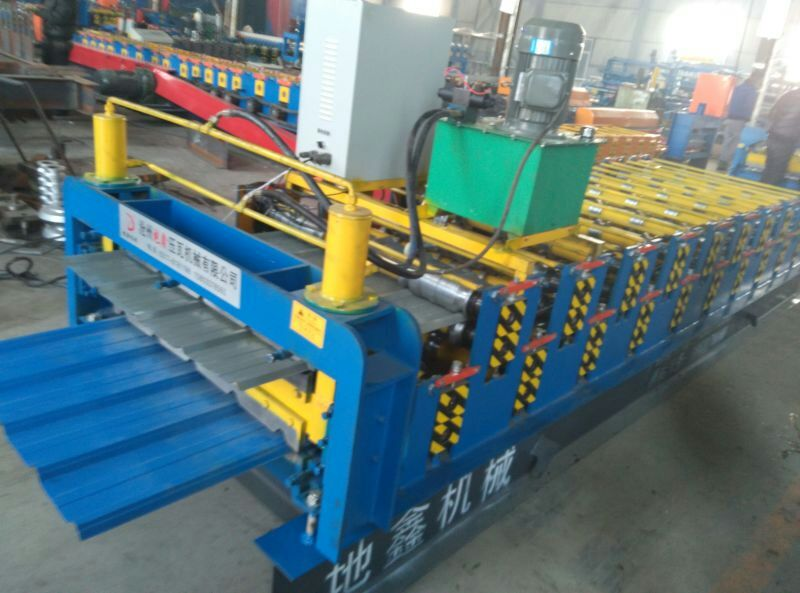 double layer roof tile roll forming equipment