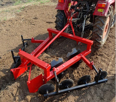Farm tractor, front end loader, rotavator, mower and other farm implements