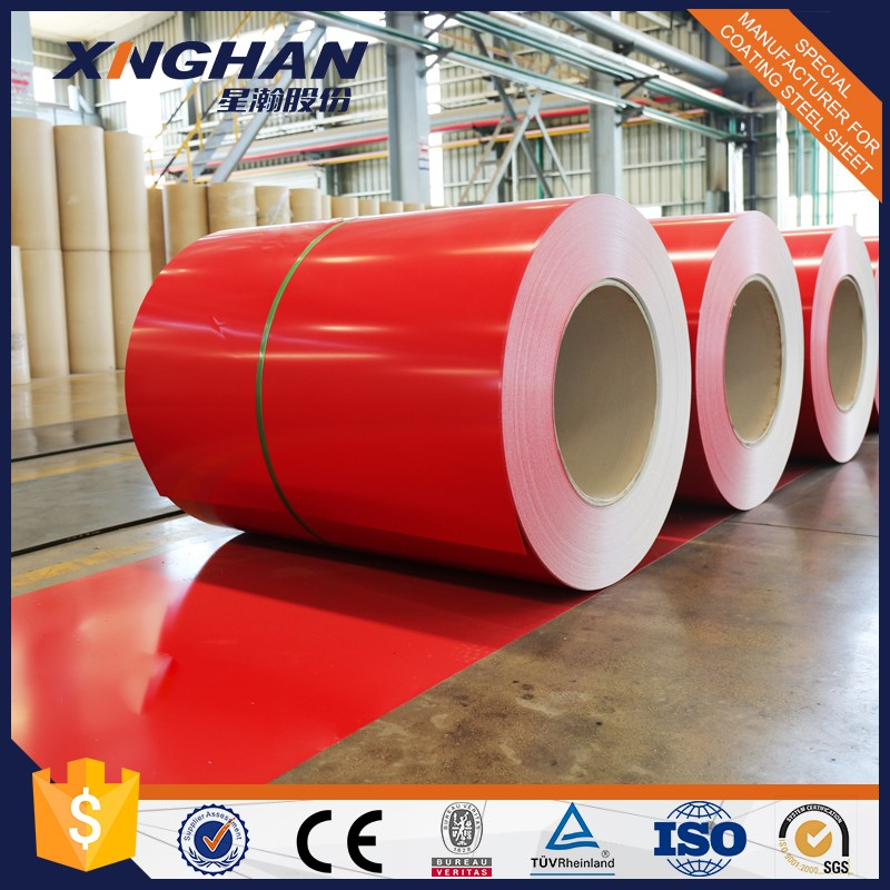 Polyester colored steel coil