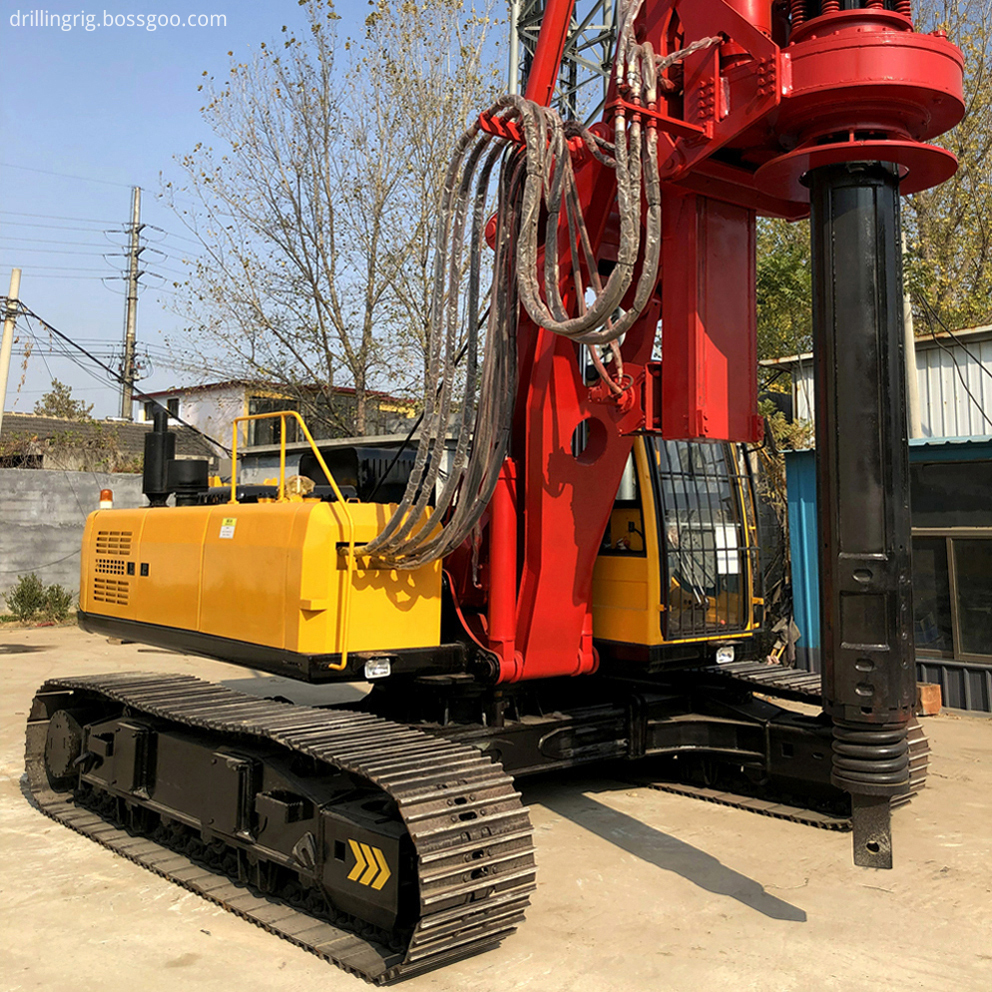 Hydraulic Rotary Oil Well Drilling Rig