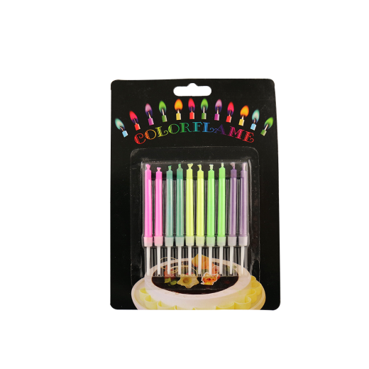 Magic Various Colorful Flame Candles For Birthday Parties