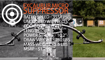 Excalibur Micro Suppressor vs. TenPoint Eclipse RCX