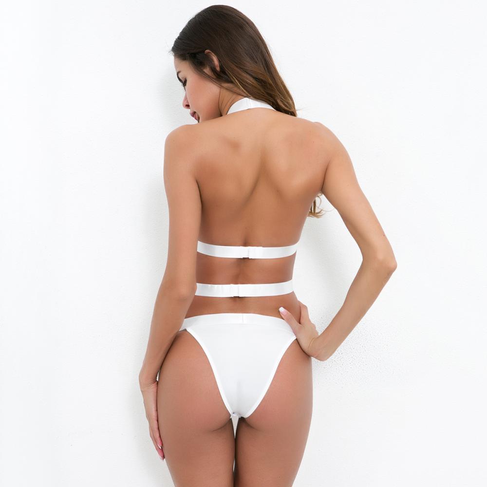 Sexy V-neck mesh bodysuit lingerie