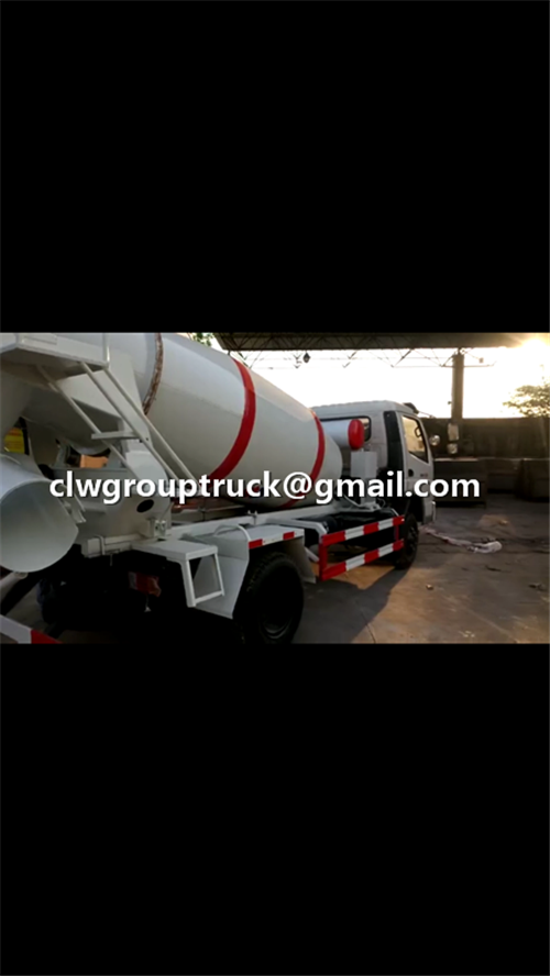 FOTON SFC 3CBM Concrete Mixer Truck For Shipping