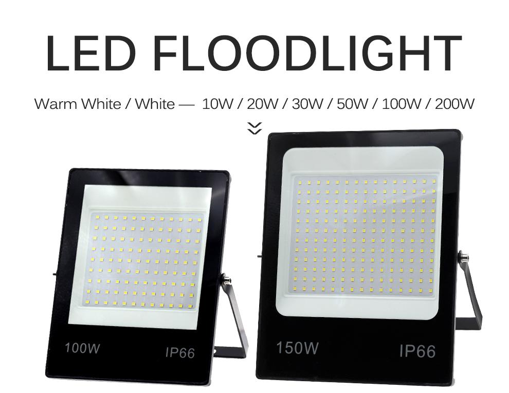 LED Flutlicht 220V 4